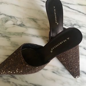 Woman's A. Marinelli sequin pump size 7M